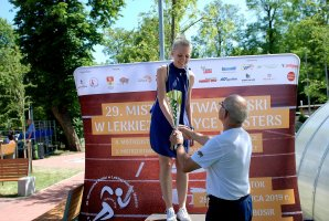 The successes of Joanna Szczykowska in the 8th Polish Championships of Doctors in Athletics