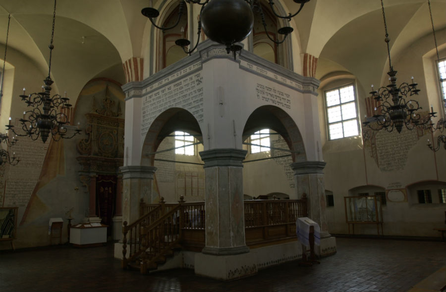 Synagogue in Tykocin.