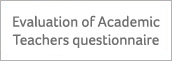 Evaluation of Academic Teachers questionnaire.