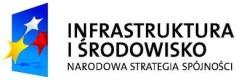 Logotyp Infrastruktura i środowisko.