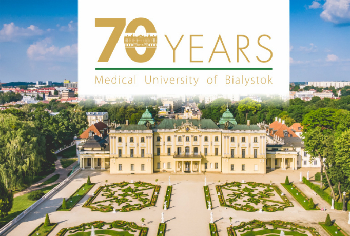 Image: 70 years of MUB This year we celebrate the wonderful 70th Anniversary of the Medical University of Bialystok