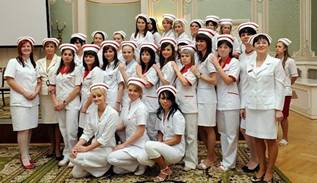 Nursing students.