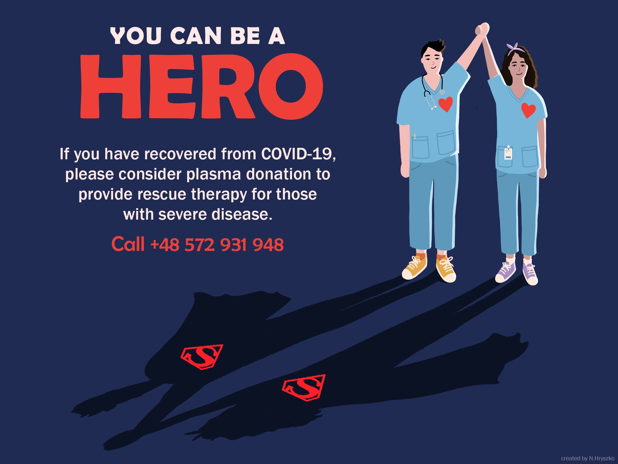 Image: Have you defeated COVID-19? Donate your plasma and help others heal