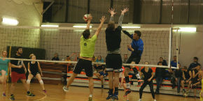 Photo report from the 8th MUB Academic Community Sport Tournament - Volleyball