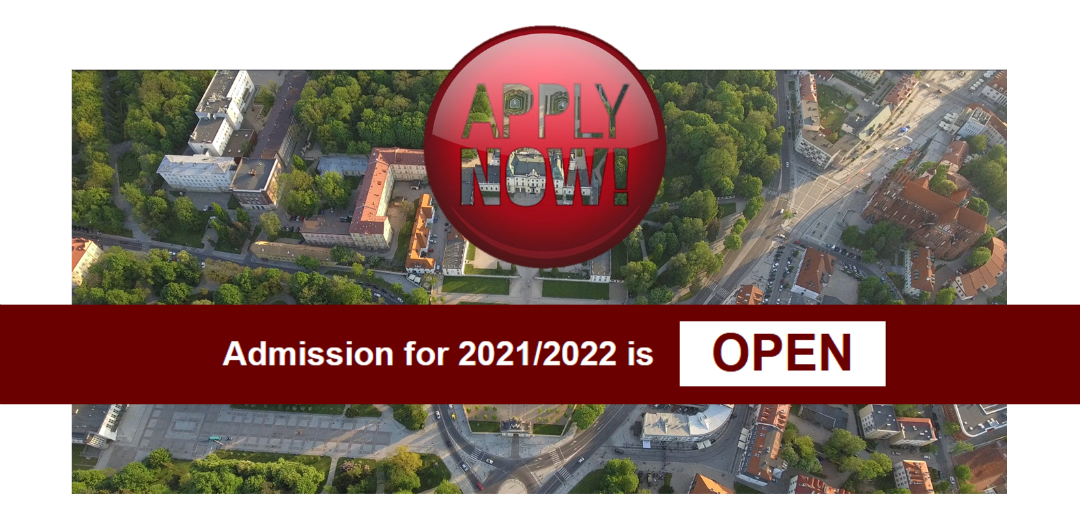 Zdjęcie: Admission for 2021_2022 is open