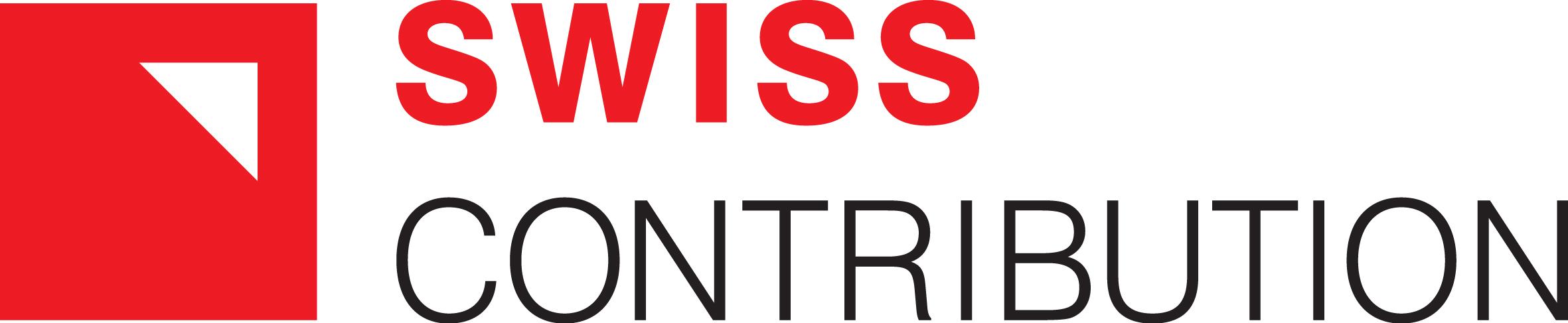 Logotyp Swiss Contribution