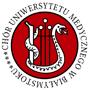 Logotyp Chóru Uniwersytetu Medycznego w Białymstoku.